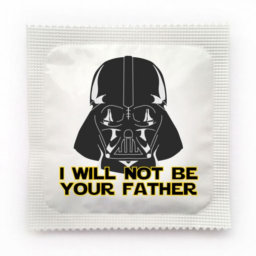 I Will Not Be Your Father Star Wars Condom