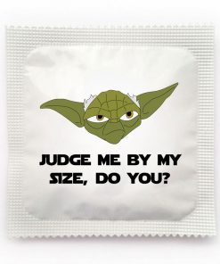 Judge me by my size, do you? Yoda Condom