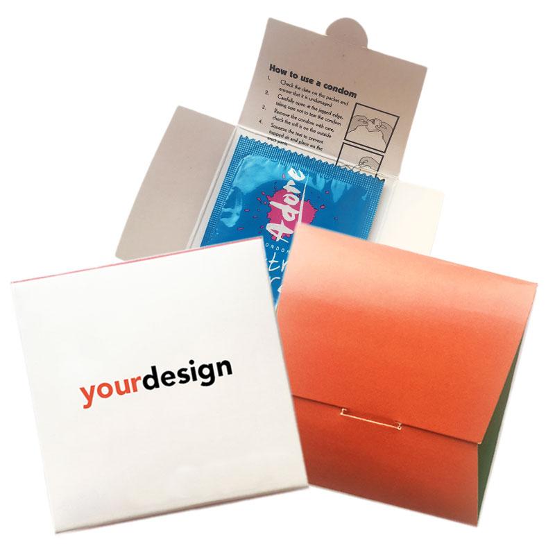 Cardboard Condom Wallets