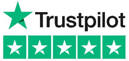 Trustpilot - 5 Stars